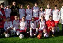 L'équipe Féminines de l'AS Coucouron