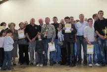 Les lauréats du concours 2011 lors de la Fête de la Maôche