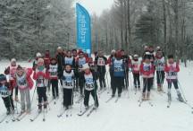 Sortie ski pour les enfants du foyer de ski de fond