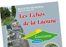 Bulletin municipal de Coucouron, été 2012