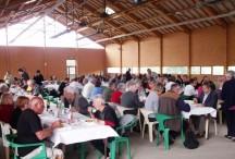Plus de 150 convives ont pris part au 1er repas villageois de la commune