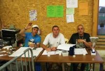 La table de marque du Grand Prix de Pétanque 2012 à Coucouron