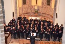 Une belle afluence à l'église de Coucouron pour la chorale des chants de Noël