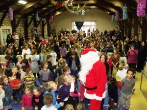 110 cadeaux ont été remis par le Père Noël