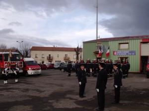 Le lieutenant Alix devient chef de corps du Centre de Secours de Coucouron