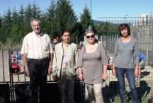 Rentrée des classes à l'école Marie Rivier de Coucouron