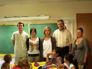 Rentrée des classes à l'école publique de Coucouron
