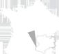 Situation de Coucouron dans la région Rhône Alpes, France