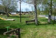 Vue sur le camping municipal de Coucouron