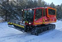 Les pompiers de Coucouron disposent d'une nouvelle «Chenille» pour les interventions sur neige