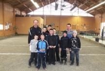 L'école de pétanque de Coucouron remporte un franc succès auprès des jeunes