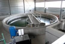 A l'intérieur de la station d'épuration de Coucouron