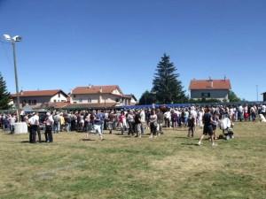 Le concours interdépartemental a rassemblé une grande foule
